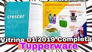 VITRINE 01/2019 COMPLETA TUPPERWARE | Aldemi Junior