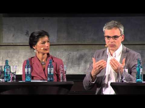 'markt intern' - Tag des Mittelstandes - Podiumsdiskussion mit Sahra Wagenknecht u .a