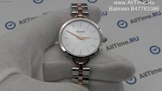 Обзор. Женские наручные часы Balmain B47783386