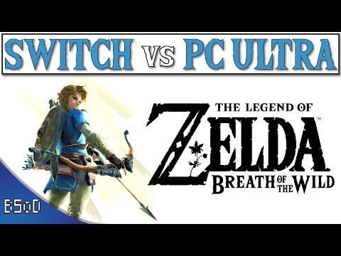Nintendo Switch vs PC Ultra Graphics | Zelda Breath of the Wild