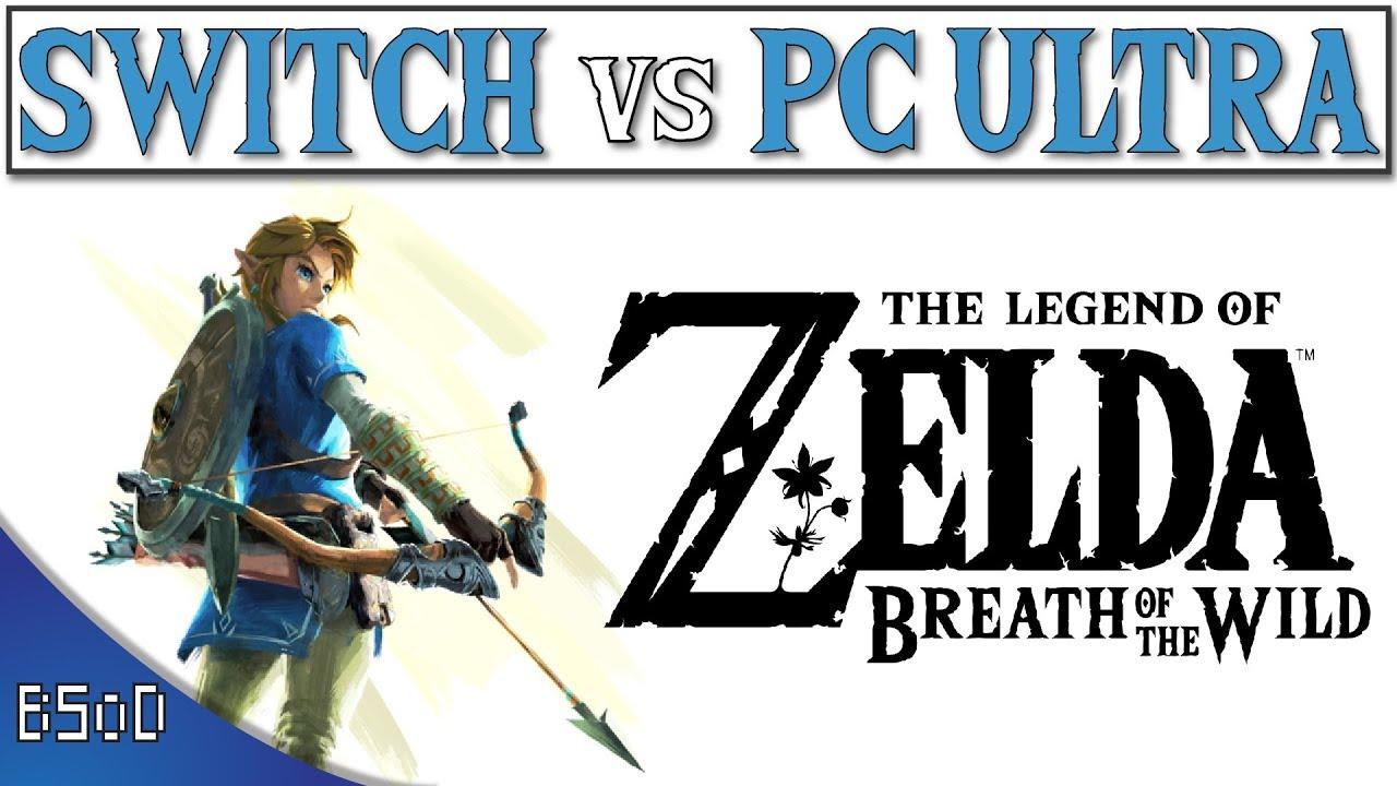GFX pack boosts visuals in Zelda: Breath of the Wild's 'PC version