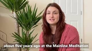 Monica from Main Line PA Meditation - Meditation Story #meditationbenefit #guidedmeditation