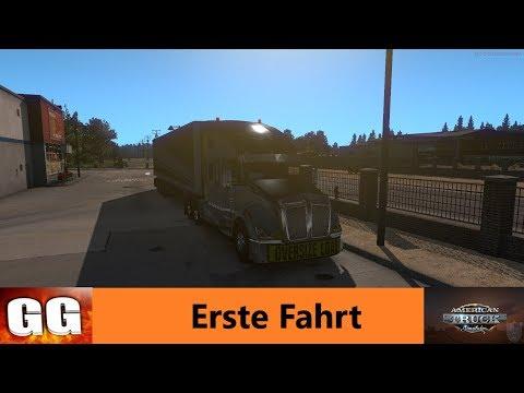 ATS | German Gamers GmbH | Erste Fahrt ATS