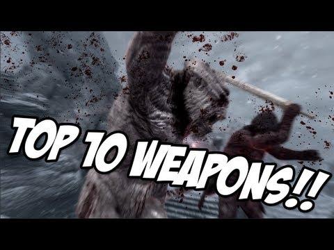 Skyrim: TOP 10 WEAPONS