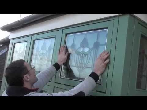 Stained Glass Double Glazing Encapsulation Glasgow