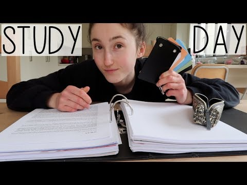 EXAM SEASON DAY IN MY LIFE VLOG | HOW TO MEMORISE A LOT OF INFORMATION & MAKE FLASHCARDS