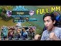 SQUAD YOUTUBER FULL MM DAPET SAVAGE GOKIL WKWKWK   Mobile Legends Indonesia