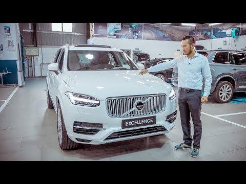 XEHAY - Tìm hiểu nhanh XC90 EXCELLENCE - mẫu SUV sang trọng bậc nhất của Volvo