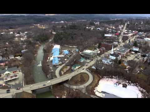 Flying over Randolph VT