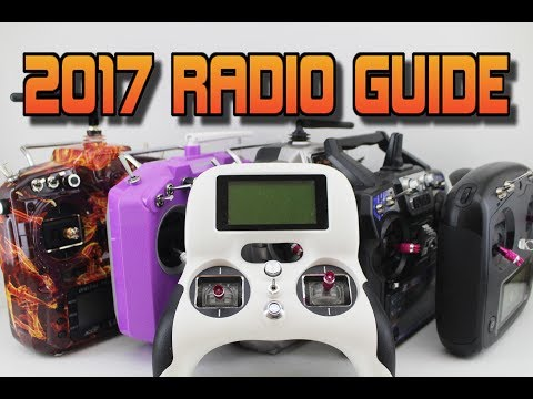 BEST 6 DRONE RADIOS of 2017 - DRONE RACING Radio buyers guide.