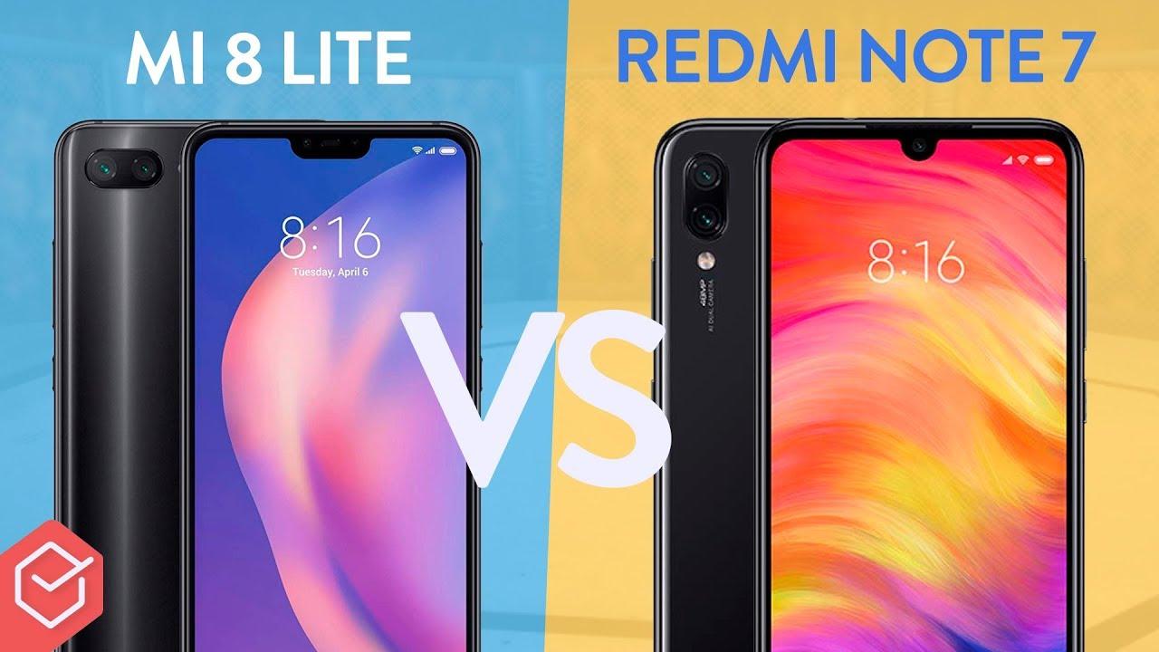 more photos 3721d 19120 Xiaomi MI 8 Lite vs. Redmi Note 7 - qual melhor? | Comparativo