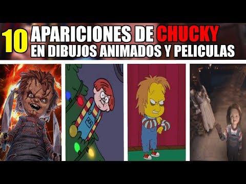 10 Apariciones de CHUCKY en PELICULAS y DIBUJOS ANIMADOS que te SORPRENDERÁN