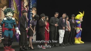 HeroAca Movie Two Heroes Preview Special LIVE