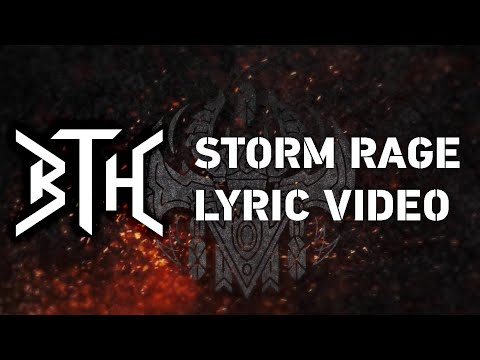 STORM RAGE - Behind The Horror - Lyric Video