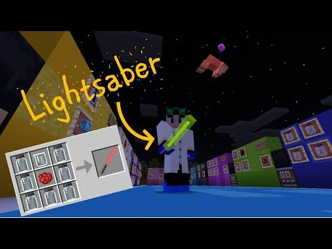 Making A Lightsaber With Minecraft's Education Edition