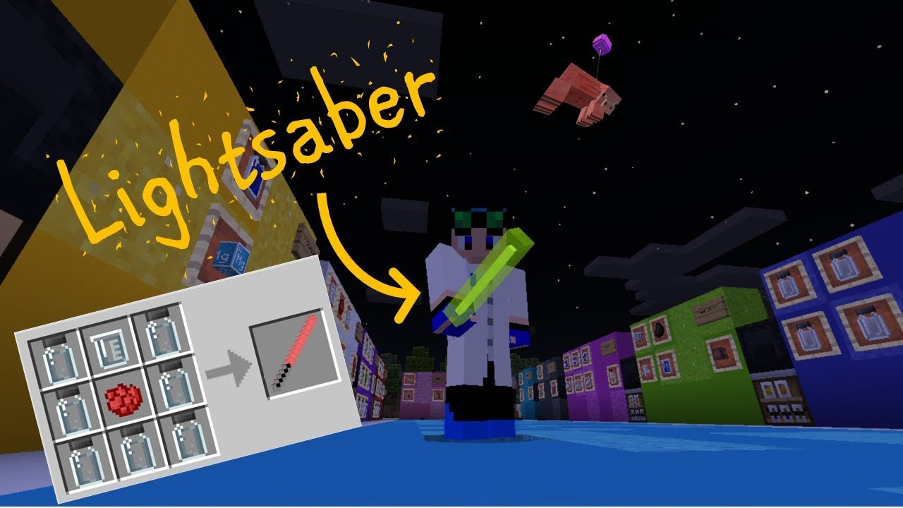 Making a Lightsaber with Minecraft s Education Edition YouTube