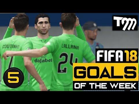 FIFA 18 - Top 10 Goals of the Week #5