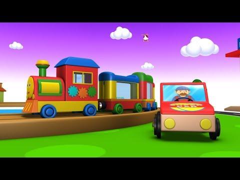Train Cartoon - Toy Trains - Toy Factory - Cartoon for Kids - Cartoon Cartoon - Police Cartoon kids