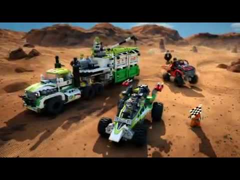 New Lego World Racers - Desert Of Destruction Commercial