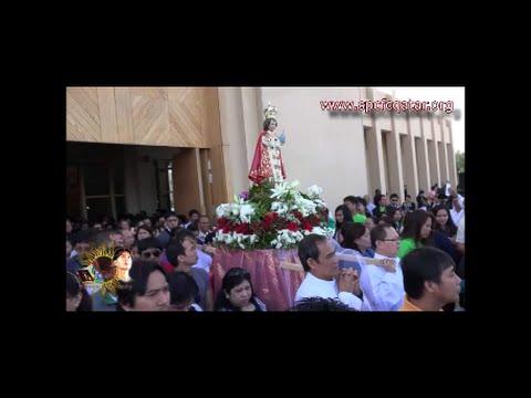 2016 Sto Nino Feast Procession in Qatar