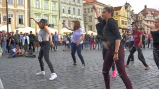 Prague FlashMob - in commemoration of Michael Jackson