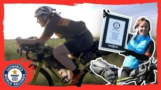 Jenny Graham: Fastest woman to cycle round the world - Meet the Record Breakers