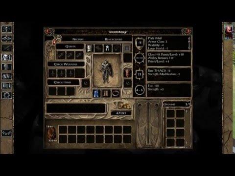 BGII EE Black Pits 2 Solo Blackguard 1 - Character creation and Orcs |