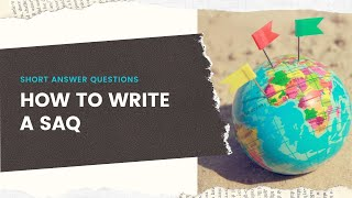 Download How to Write an SAQ (AP World History Modern)