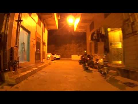 raw clips - bicycle riding in shenzhen street Jan 23 24 2017