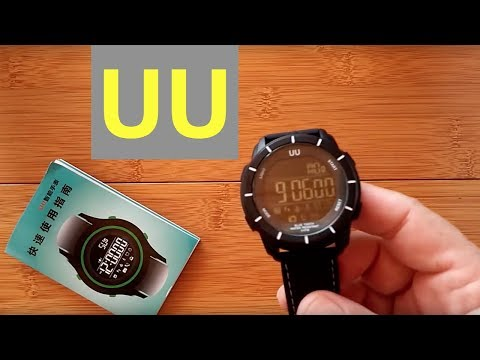 ZoiyTop UU DIGITAL Smartwatch: Unboxing and Review