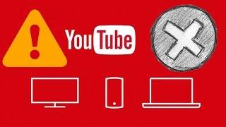Известные ошибки и сбои YouTube. Проверьте свои каналы!