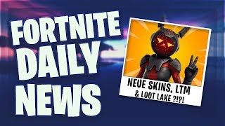Fortnite Daily News *LEAKS* LOOT LAKE BUNKER, NEUE SKINS, EMOTES & EVENT SOUNDS (17 April 2019)