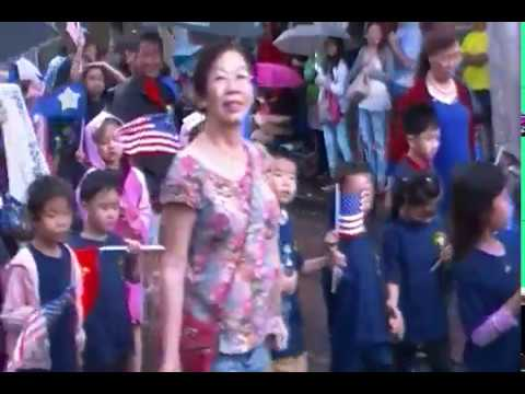 2017 Night In Chinatown Parade Honolulu Hawaii Part 1