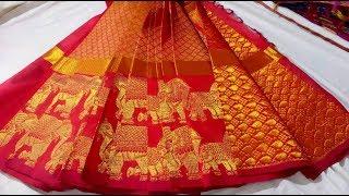 Kuppadam Full Zari Work Silk Cotton Sarees Models    Latest Kuppadam Pattu Saree
