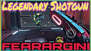 Shadowgun Legends | FEARARGINI Legendary Shotgun (Testing in Grind Missions)