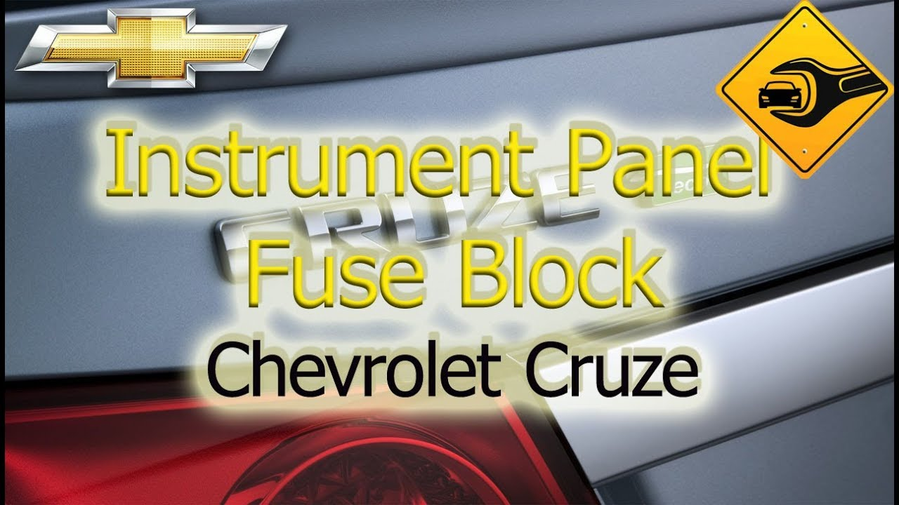 instrument panel fuse block chevrolet cruze youtubeinstrument panel fuse block chevrolet cruze  [ 1280 x 720 Pixel ]