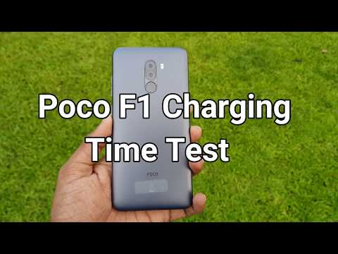 Poco F1 Charging Time Test