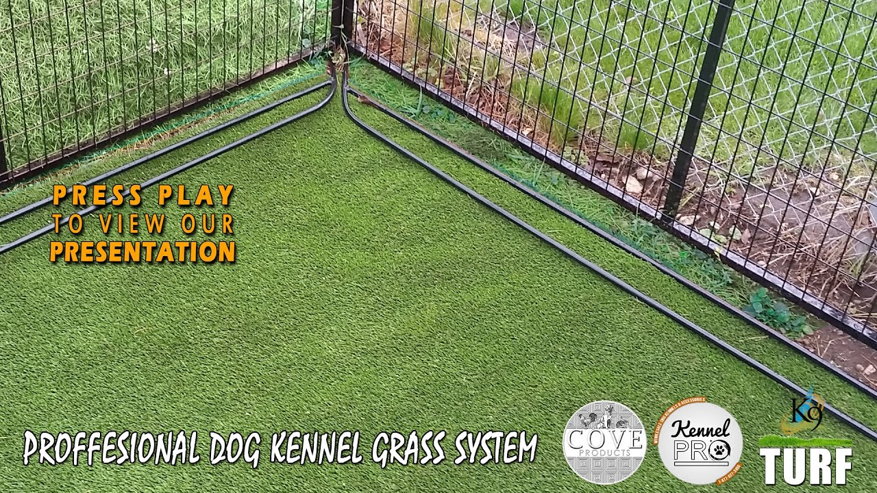 Pet Artificial Grass For Your Dog Kennel K9 Kennel Turf