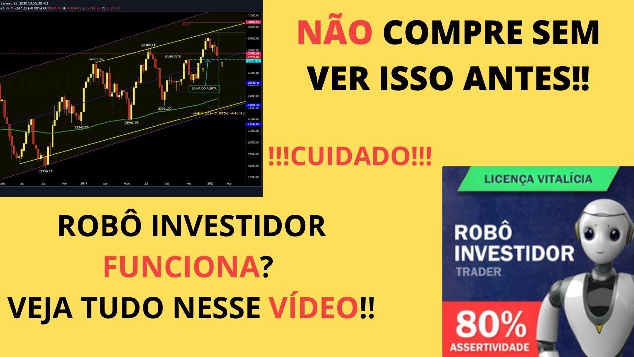 como funciona robo investidor trader