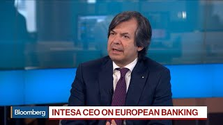 Intesa Ceo Sees Positive Outlook For Italy, Bank
