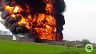 Pipeline-Feuer in Mexiko