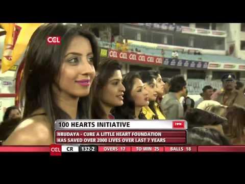 CCL 5 Semi Final 1 Chennai Rhinos Vs Karnataka Bulldozers 2nd Innings Part 4/4