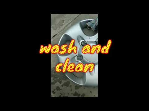Best alloy wheel modifications | wheelcap coloring | scorpio alloy wheels | alloy wheels spray paint