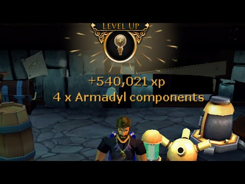 Runescape: Augmenting Items & Leveling - How I Got 60 Invention
