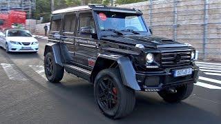 BRABUS Mercedes-Benz G 550 4X4² 4.0L V8 Biturbo!