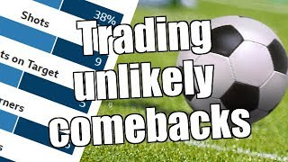 Peter Webb - Betfair football sports trading strategy - Trading unlikely comebacks