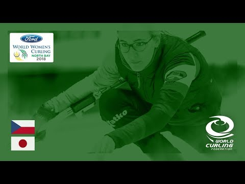 Czech Republic v Japan - Round-robin - Ford World Women's Curling Championships 2018