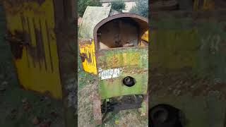 Benford cement mixer with Petter diesel motor
