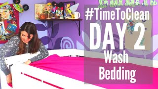 DAY 2 CLEANING SCHEDULE // #TIMETOCLEAN CHALLENGE // SPEED CLEANING ROUTINE