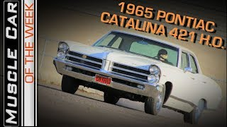 1965 Pontiac Catalina 421 H.O. 4-Speed 4-Door Sleeper: Muscle Car Of The Week Episode 251 V8TV